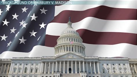 marbury  madison definition summary significance