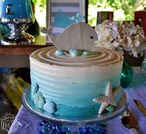 whale cake topper ahoy it s a boy nautical baby shower is sweet as