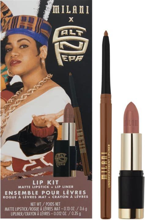 milani cosmetics salt pepa shoop lip kit milani