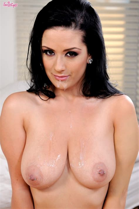 Katrina Jade Gets Jizzed On Tits After Hot Fuck Of