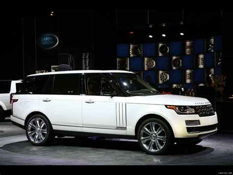 2018 Range Rover Autobiography Black Long Wheelbase Side