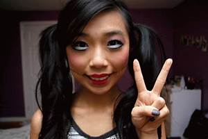 fun size beauty: HALLOWEEN: Creepy Cute Doll Makeup