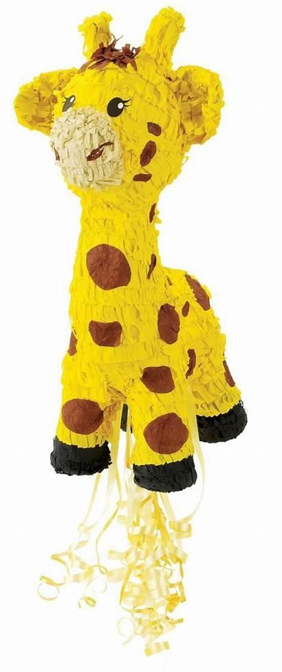 Pinata Giraffe Basteln Giraffes Birthday Archzine