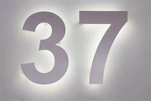Hausnummer Led Hinterleuchtet : hausnummer 37 aus edelstahl mit led s hinterleuchtet ~ Sanjose-hotels-ca.com Haus und Dekorationen