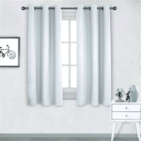 white lined drapes 1 panel white lined thermal blackout antique grommet
