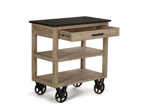 desserte de cuisine en bois a roulettes desserte de cuisine sur roulettes design quot usine quot et bois massif meuble et d 233 coration marseille