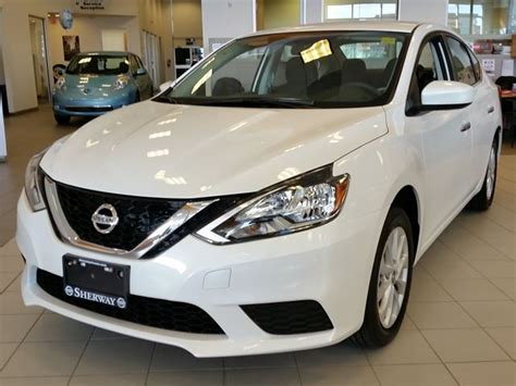 2016 Nissan Sentra Sv White Sherway Nissan New Car