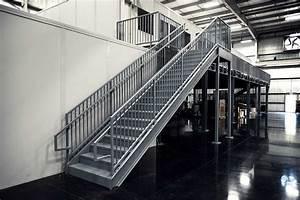 Prefabricated Metal Stairs  Aluminum Steps  U0026 Work