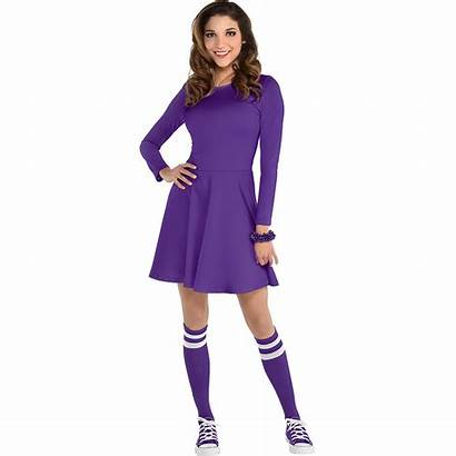Purple Flare Womens Party Standard Pc Adult