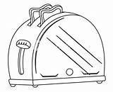 Toaster Drawing Vector Getdrawings Drawings Paintingvalley sketch template