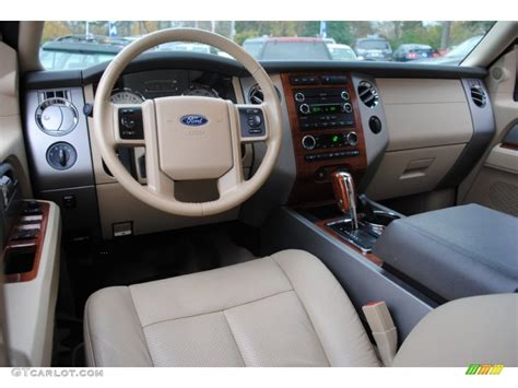 ford expedition eddie bauer  camel dashboard photo