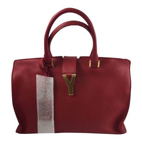yves laurent cabas ysl chic handbags leather ref 36139 joli closet