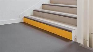 Antidérapant Escalier Bois : sarlon marche complete sol pvc acoustique pour escalier ~ Dallasstarsshop.com Idées de Décoration