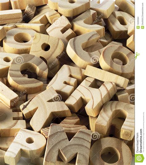 wooden letters stock photo image  wood literacy