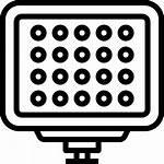 Led Icons Icon Electronics