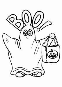 Dessin Citrouille Facile : coloriage halloween deguisement fantome sur ~ Melissatoandfro.com Idées de Décoration
