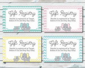 baby registry etsy With free printable baby registry cards