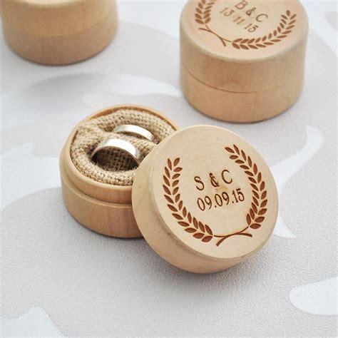 wooden ring box australia personalised wooden wedding ring box