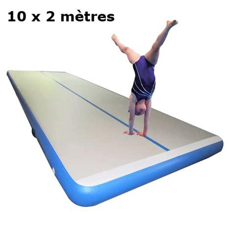 Matelas De Gymnastique Gonflable 10 X 2 Mètres Sur