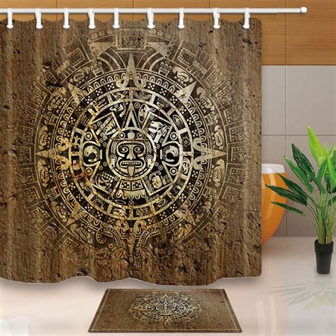 native decor ethnic indian style  aztec calendar