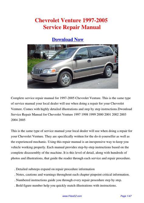online auto repair manual 1998 chevrolet venture windshield wipe control download 1997 2005 chevrolet venture factory repair manual by yang rong issuu