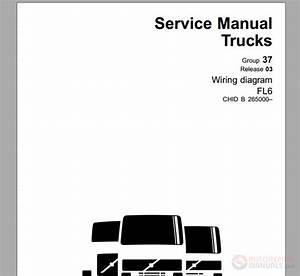 Volvo Fl6 Truck Wiring Diagram Service Manual November 2003