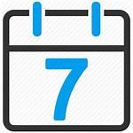 Icon Week Icons Diary Date Calendar Plan