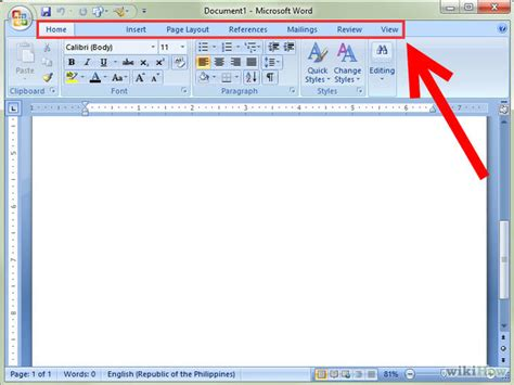 how to use word how to use microsoft office word 2007 with pictures