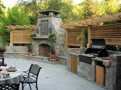 plan cuisine exterieure d ete barbecue extérieur ou four à bois c 39 est vous qui décide