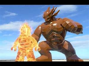 LEGO GROOT VS HUMAN TORCH (Battle) - LEGO Marvel ...