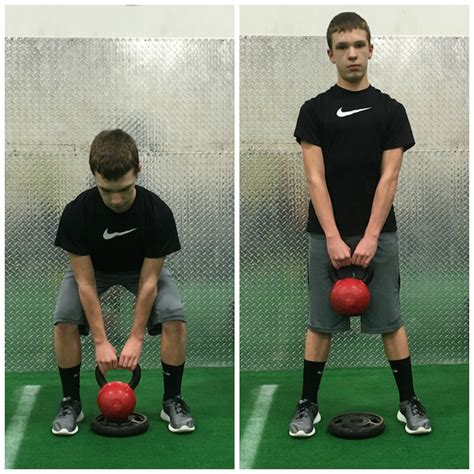weight deadlift kettlebell heavy lifting every before movements stack athlete needs basic learn young conventional he barbell hex bar neck