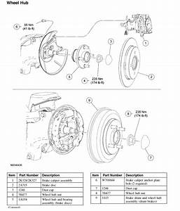 How Do I Get The Rear Brake Drum Off A 2007 Ford Focus