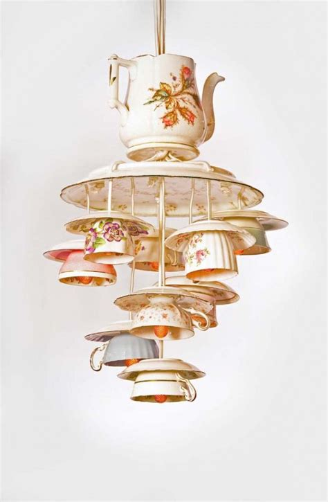 ideas    reuse tea cup artistically