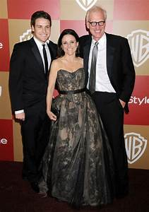 Julia Louis Dreyfus with husband Brad Hall and son Henry ...
