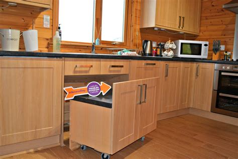 kitchen design for wheelchair user review hoe grange holidays accessible log cabins 7935