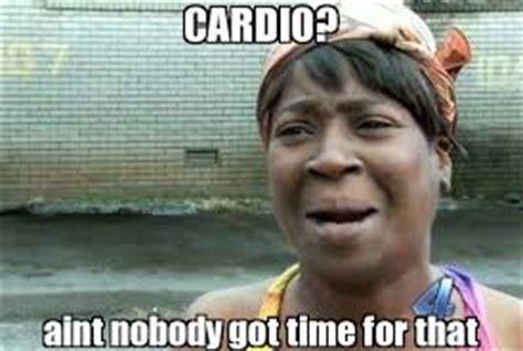 Cardio Meme - with age comes wisdom