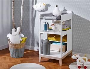 Table à Langer Bébé : table langer blanc h tre evidence ~ Teatrodelosmanantiales.com Idées de Décoration