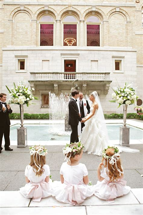 Boston Public Library magical wedding venue flower