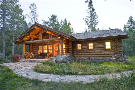 craftsman style homes interior lost creek cabin teton heritage builders