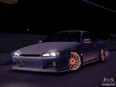 Nissan Silvia S15 Stanced For Gta San Andreas