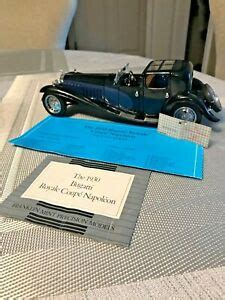 The first prototype, chassis 41100, was completed in 1927. Franklin Mint 1930 Bugatti Royale Coupe Napoleon 1:24 | eBay