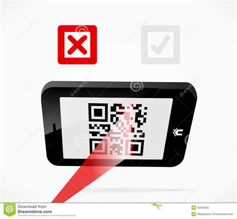 Mobile Scan Royalty Free Stock Photo  Image 35460265