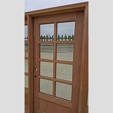 Exterior 8lite Clearance Doors Cl5225