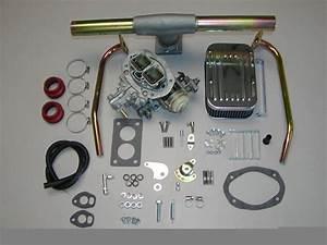 Vw Bug Super Beetle Dunebuggy Weber Carburetor Kit W  Genuine Weber Dual Port