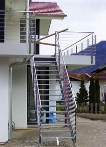 aussentreppen mit gelander nach mass kliegl treppenbau With garten planen mit außentreppe für balkon