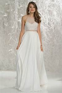 wedding dresses photos quotvanuquot top quotrubyquot skirt by With wedding dress tops