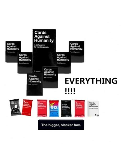 We did not find results for: Buy New Cards Against Humanity Cards Game FULL SET Everything Inside AUS BaseSet + 6Expansions ...