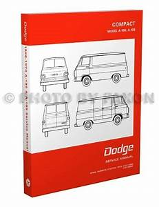 1968 1969 1970 Dodge A100 A108 Van Repair Shop Manual
