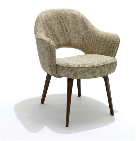 shop knoll saarinen executive chairs with wood legs
