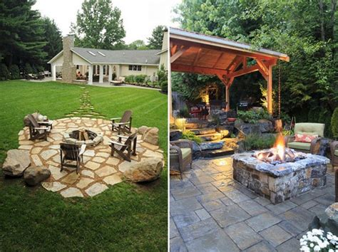 pit fire outdoor backyard patio pits fireplaces modern seating eve stylish warm decorative keep inspiration fall garden